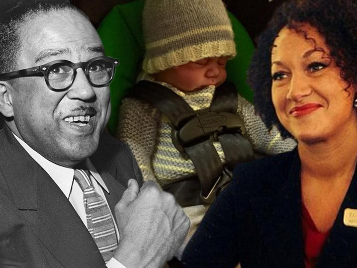 Rachel Dolezal -- Baby Name Gets One Fist Up From Langston H