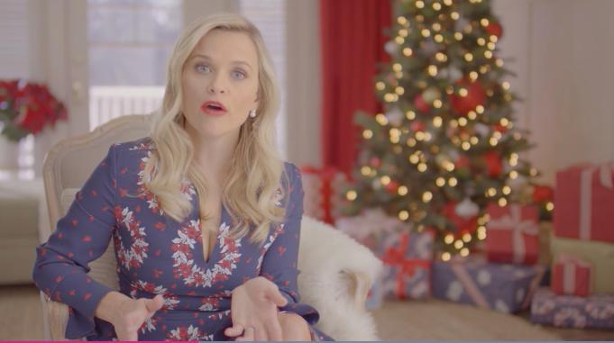 Reese Witherspoon Gives Celebs Their Holiday Names In Draper James Festive Video