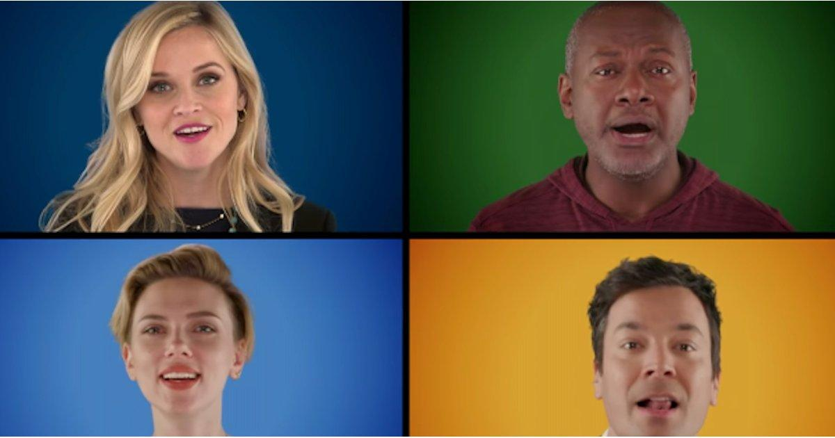 Reese Witherspoon, Matthew McConaughey, and More Stars Sing