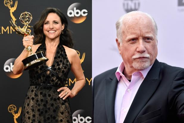 Richard Dreyfuss Appreciates the Concern, But He       's Not Julia Louis-Dreyfus      '  Dad