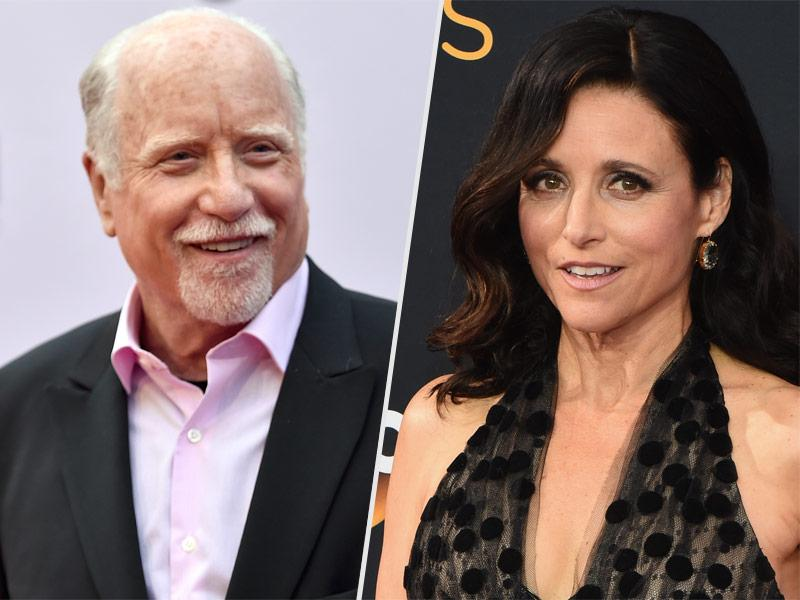 Richard Dreyfuss Has to Confirm He's Still Alive After Twitter Confuses Him with Julia Louis-Dreyfus' Late Father