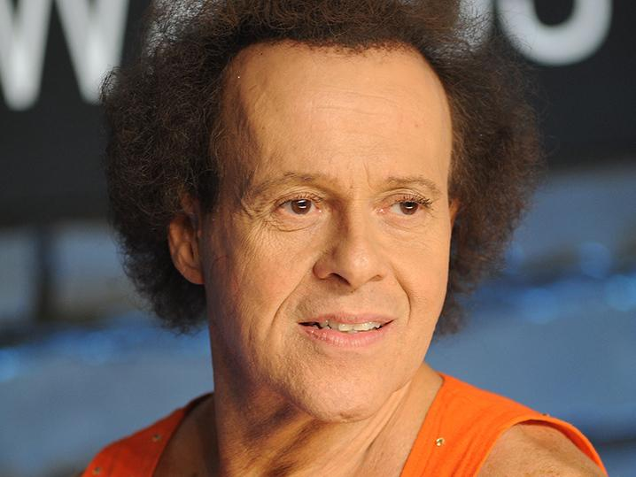 Richard Simmons -- Hospitalized For