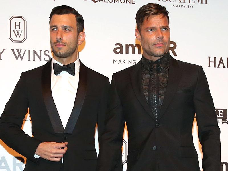 Ricky Martin and New Boyfriend Jwan Yosef Make Red Carpet De