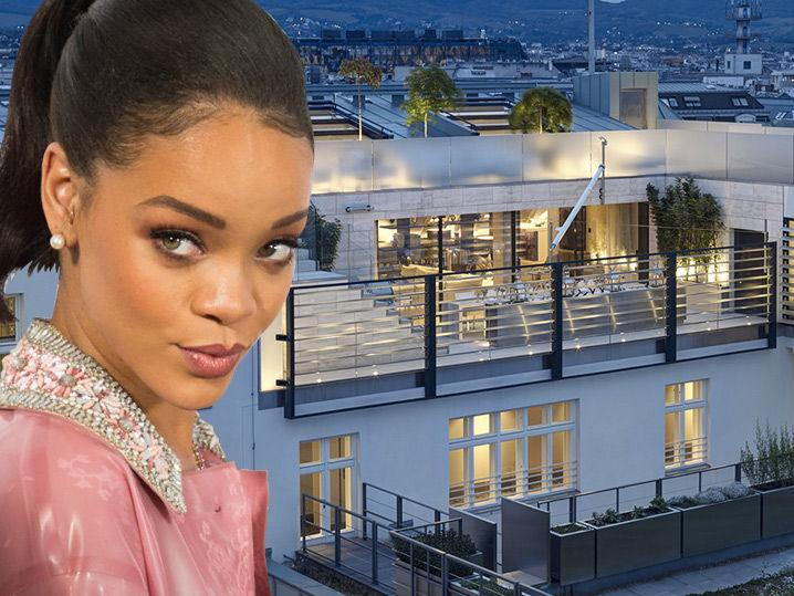 Rihanna -- Screw Motel 6 ... I'm Renting a Palace for the Night!!! (Photo Gallery)