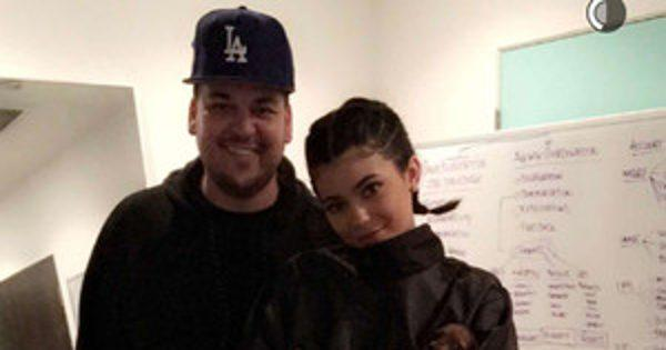 Rob Kardashian and Kylie Jenner Spotted Out Together for the