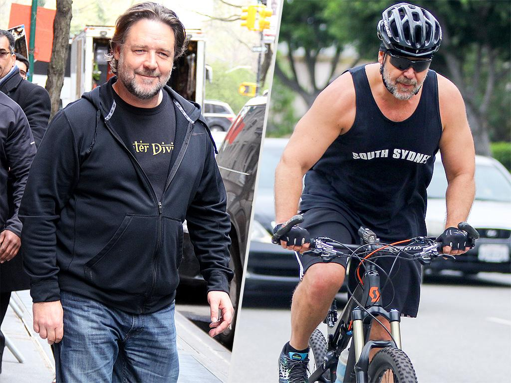 Russell Crowe Dishes on Losing 52 Lbs. After Beefing up for