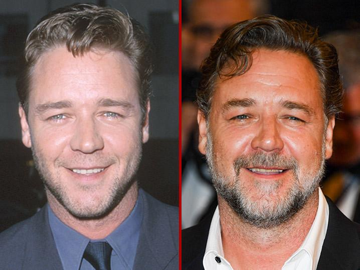 Russell Crowe -- Good Genes Or Good Docs?