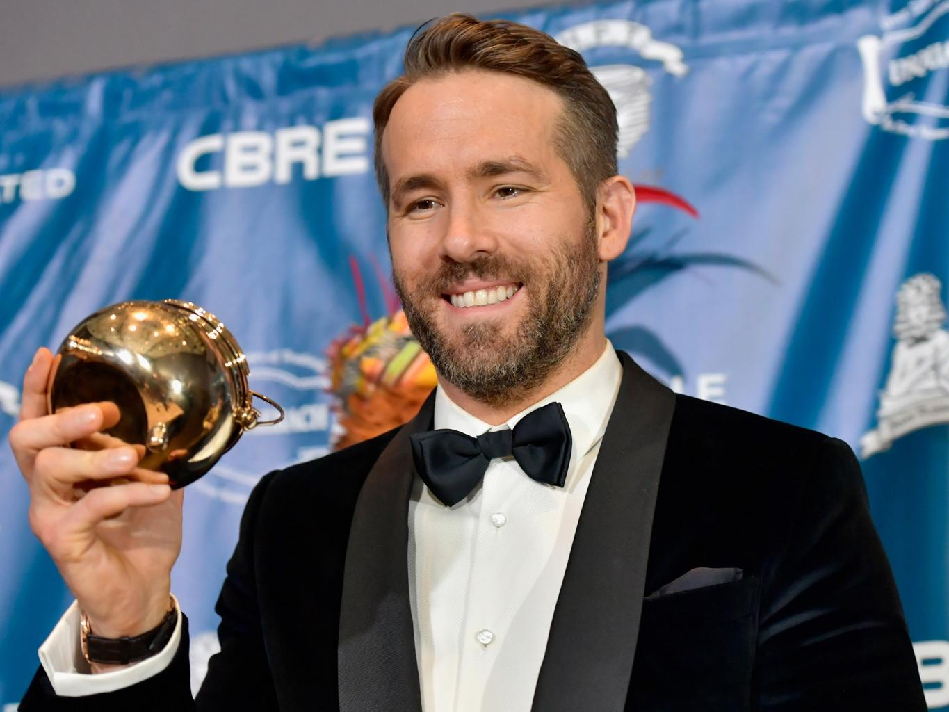 Ryan Reynolds Talks Family and Flops as He Receives Hasty Pudding Man of the Year Award