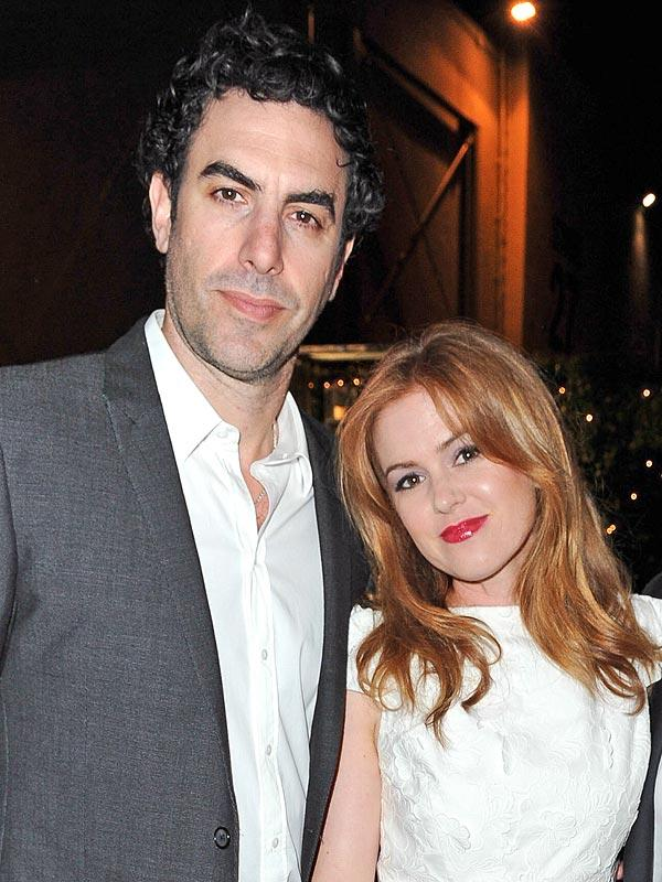 Sacha Baron Cohen and Isla Fisher Donate $1 Million to Syria