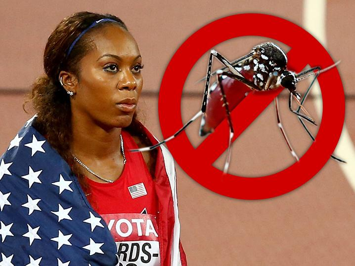 Sanya Richards-Ross -- Zika Scare Won't Keep Me From Olympic