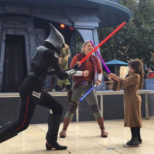 Sarah Michelle Gellar's Daughter Receives Jedi Training