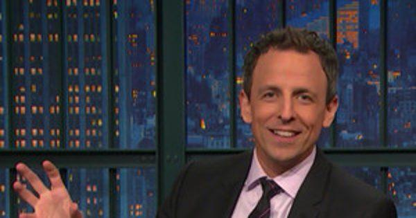 Seth Meyers Is Adorably Clueless About Raising a Baby