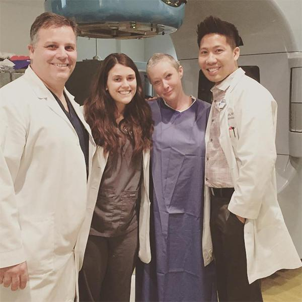 Shannen Doherty Completes Radiation Therapy and Pays Tribute to Another Cancer Doctor and