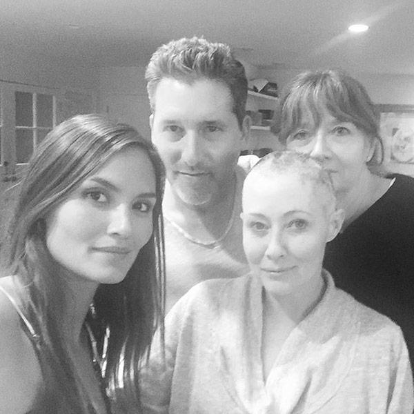 Shannen Doherty Talks 'Impossibly Tough Day' as She Shares Breast Cancer Update After Shaving Her Head