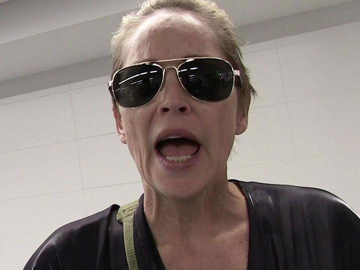 Sharon Stone -- My Alleged Stalker's Hitting Me Up For Guns & Diamonds