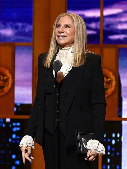She's Here: Barbra Streisand Returns to the Tonys Stage After 46 Years: 'You're Making Me Verklempt'