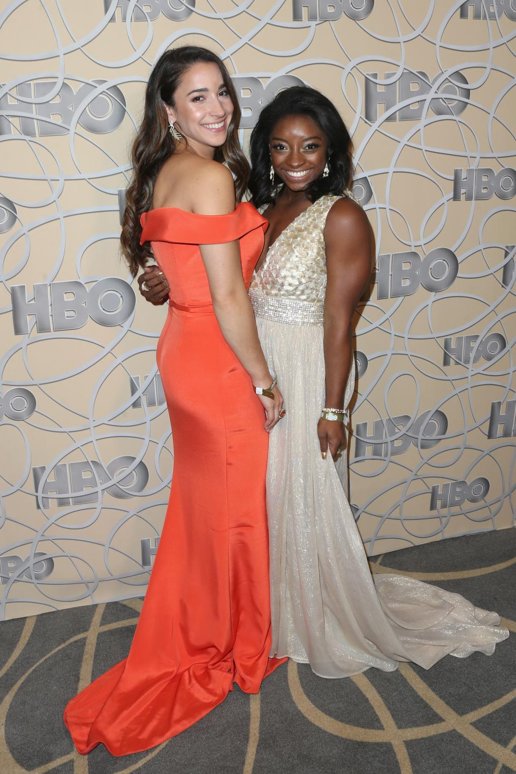 Simone Biles and Aly Raisman Pose for the        Sports Illustrated      '  Swimsuit Issue 2017