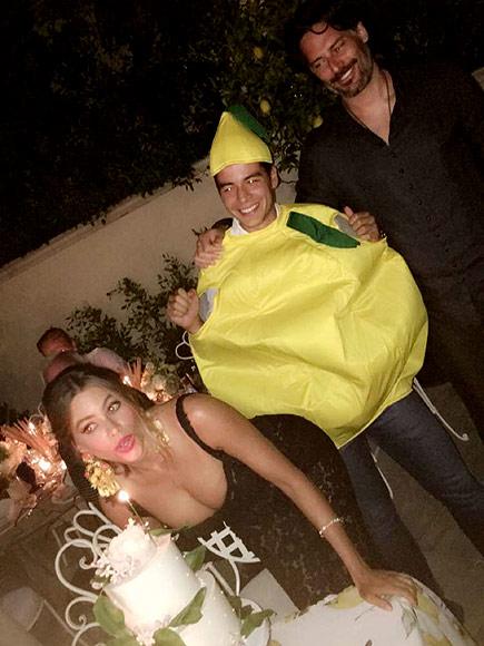 Sofia Vergara Celebrates 44th Birthday with Lemon-Themed Dinner