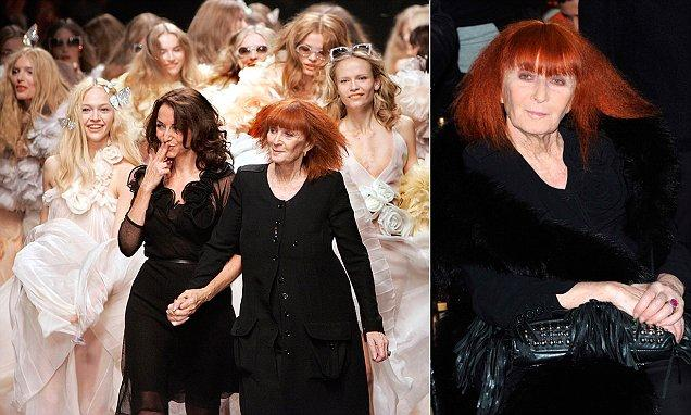 Sonia Rykiel dies aged 86 after long battle with Parkinson's disease�
