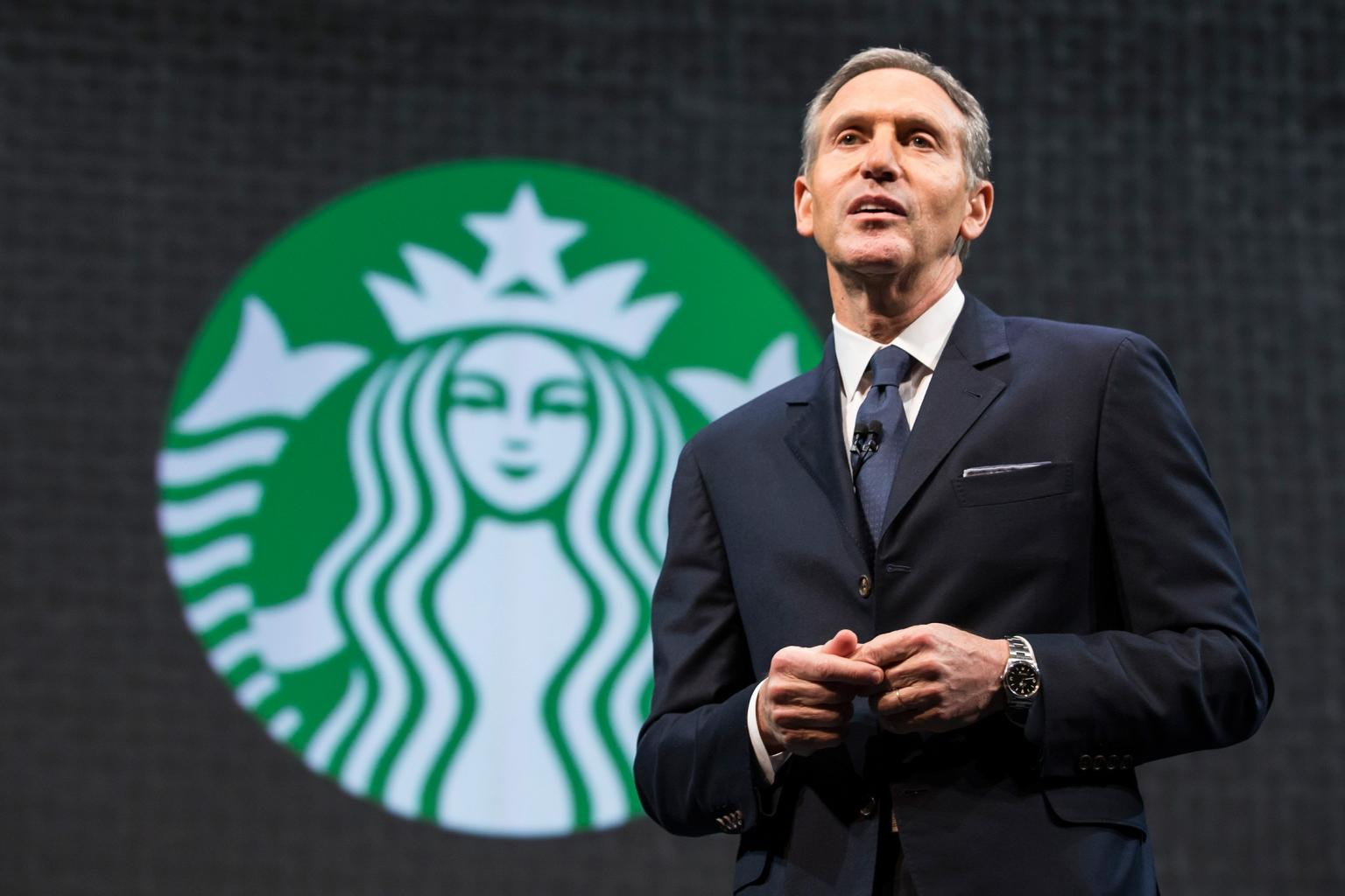 Starbucks CEO Howard Schultz Attributes Coffee Empire to His Upbringing in Brooklyn Projects