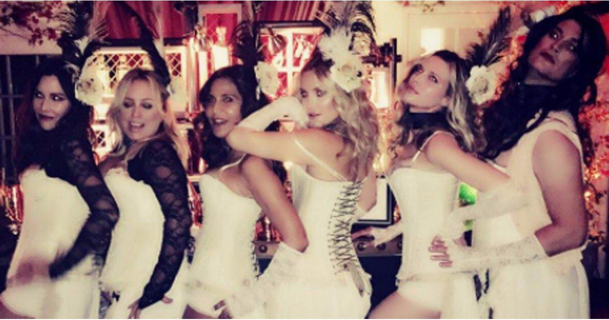 Stars Kick Off Halloween Weekend at Kate Hudson's Annual Party