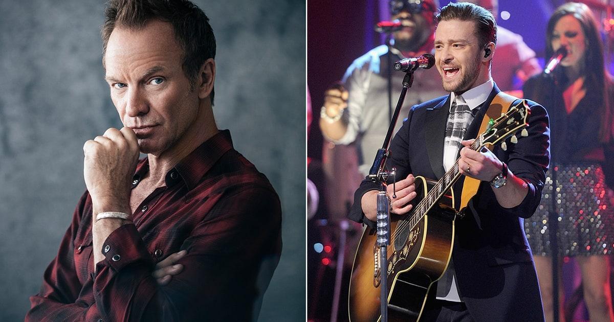 Sting, Justin Timberlake to Perform at 2017 Oscars