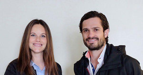 Sweden's Princess Sofia and Prince Carl Philip Debut First P