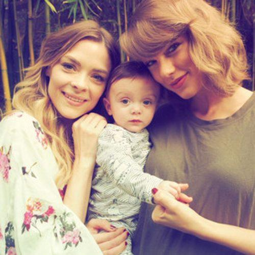 Taylor Swift Is One Proud Godmother With Jaime King's Son