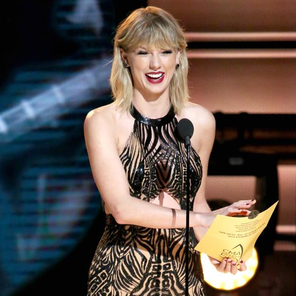 Taylor Swift Makes Surprise Appearance at the 2016 Cma Awards
