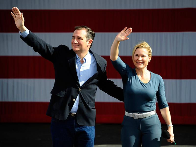 Ted Cruz Fires Back at Donald Trump for Attacks on His Wife: