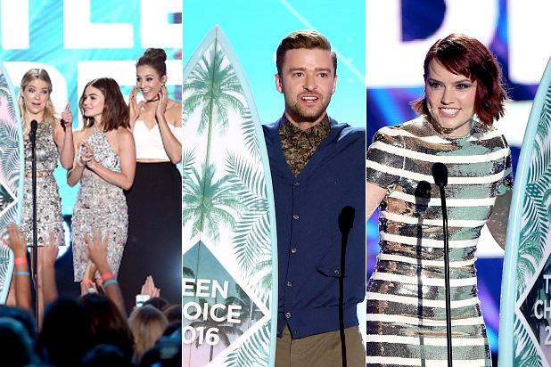 Teen Choice Awards 2016: The Complete Winners List