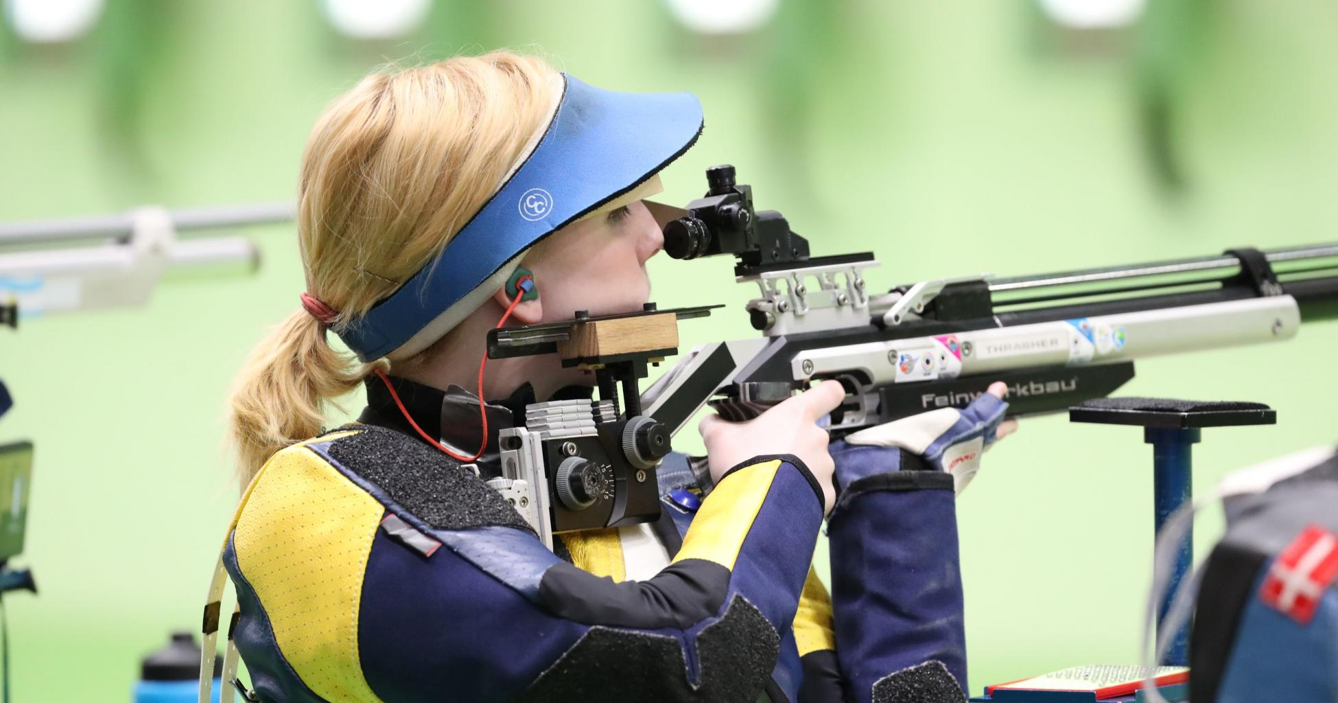 Teen shooter Ginny Thrasher wins USA's first gold medal of Rio Olympics