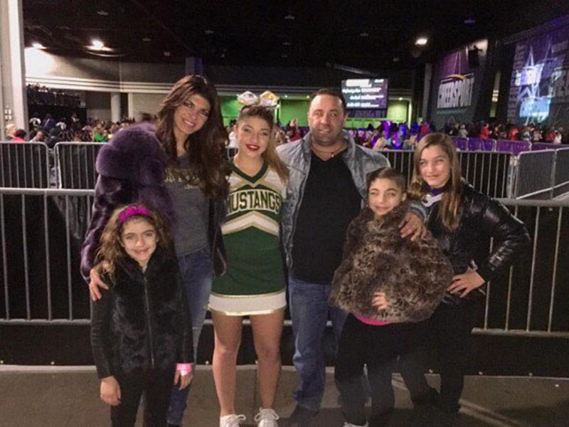 Teresa Giudice Attends Daughter Gia's Cheer Competition in A