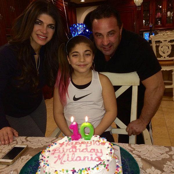 Teresa Giudice Celebrates Daughter's 10th Birthday as End of
