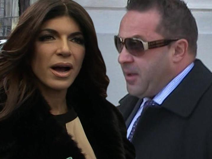 Teresa & Joe Giudice -- No Money, Mo' Problems ... In $261k Tax Hole!