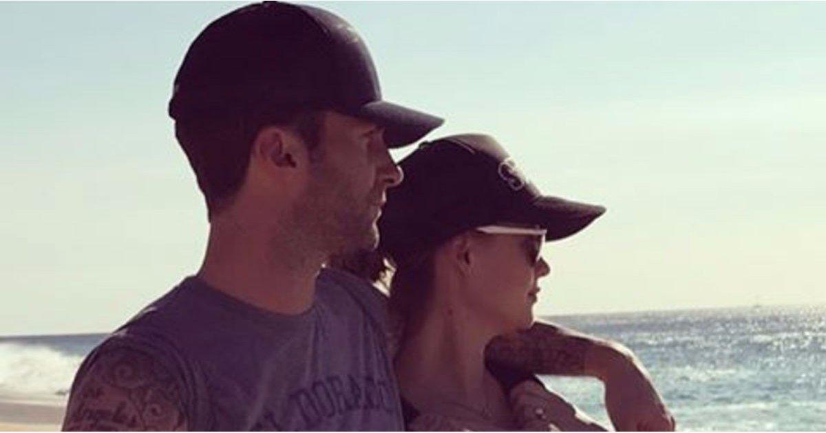 The Caption on Adam Levine's Sweet Family Photo Will Melt Your Cold, Black Heart