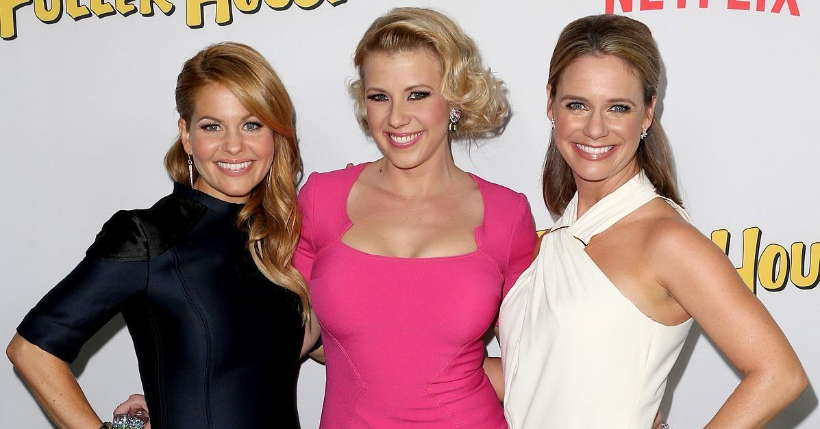 The Cast of Fuller House Steps Out in Full Force at Their Bi