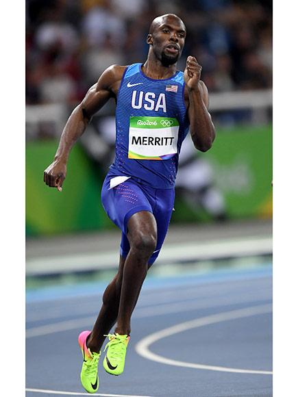 The Comeback Kid! Lashawn Merritt Scores Bronze in 400-Meter Race at the Rio Olympics