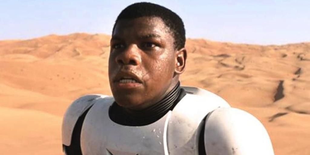 The Force Awakens '  Star John Boyega Surprises Crowd At Star Wars Celebration