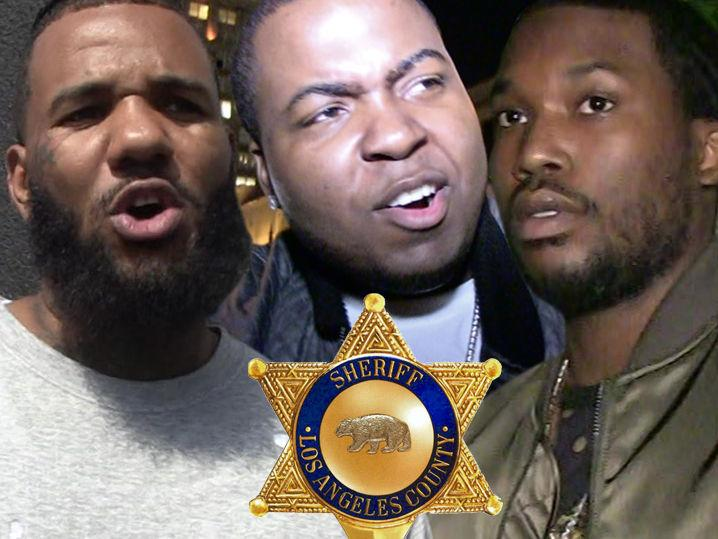 The Game & Meek Mill -- No Snitching in Sean Kingston Case