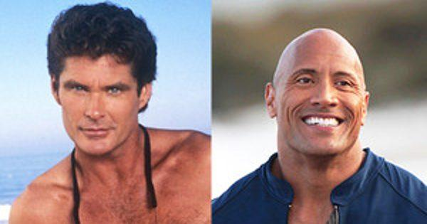 The Hoff Is Back! Dwayne