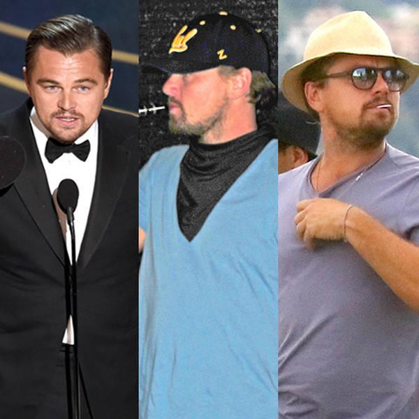 The Leonardo DiCaprio Cycle of Life: Film, Beach, Beard, Travel the World, Shave, Haircut, Award Season, Repeat