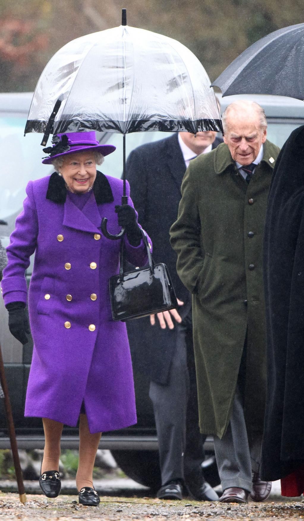 The Queen Joins Her Nephew at Church After Lord Snowdon  's Death