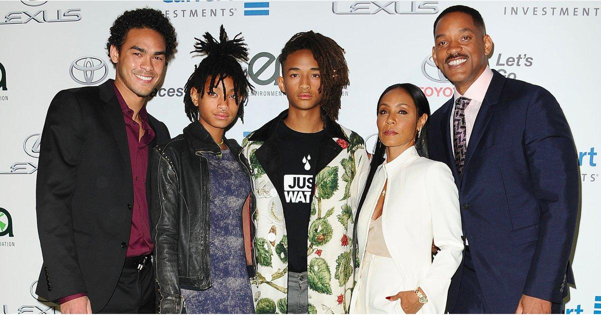 The Smith Family Steps Out in Full Force to Support Jaden on His Big Night
