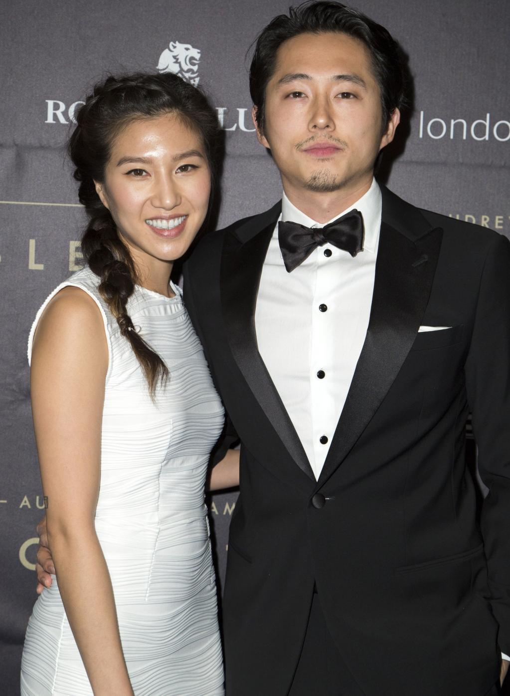 The Walking Dead Alum    Steven Yeun and Wife Joana Pak Share First Photo of Newborn Son