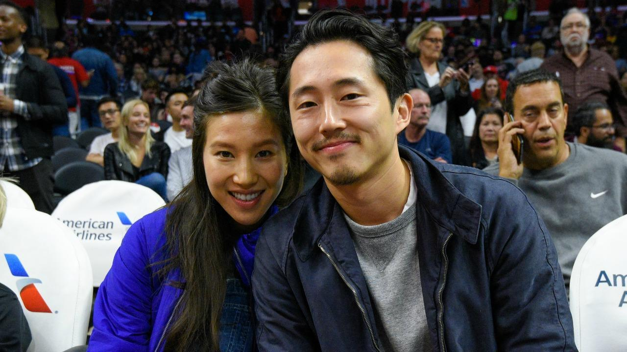 'The Walking Dead' Star Steven Yeun and Wife Joana Pak Share First Photo of Newborn Son -- See the Pic!