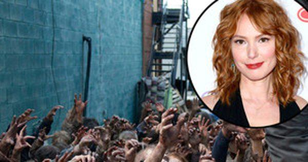 The Walking Dead's Alicia Witt Talks Her Out-of-Body Experie