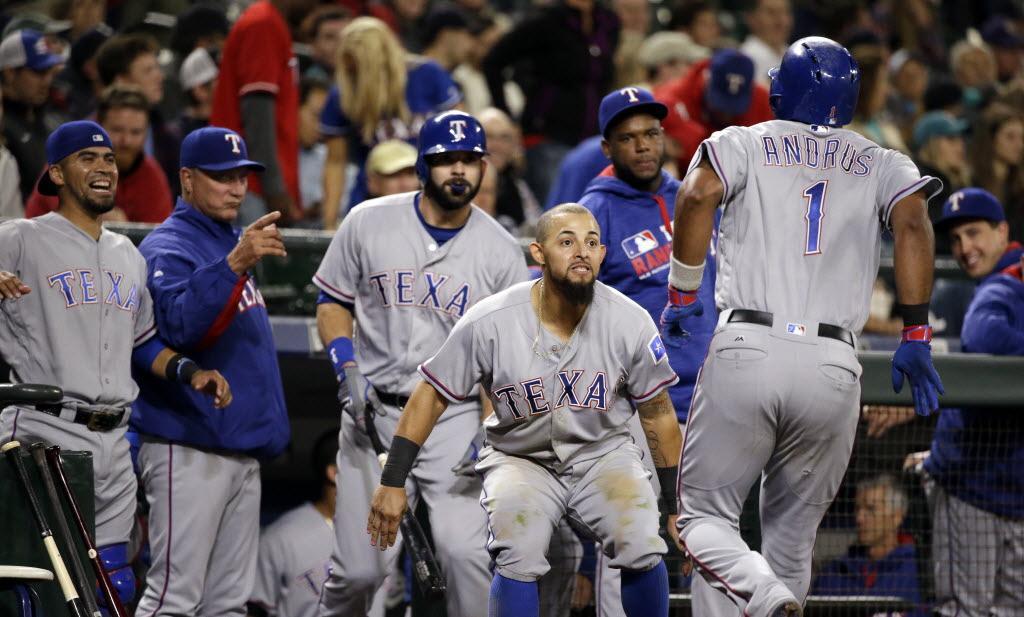 Three takeaways: Elvis Andrus goes nuts as Rangers win nutty game