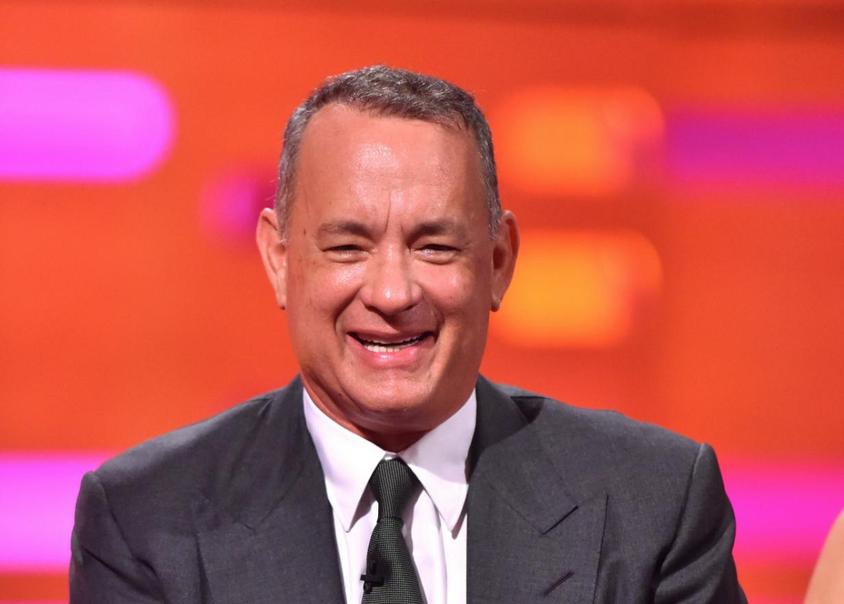 Tom Hanks Gushes About His    Firm '     Forrest Gump '  Butt
