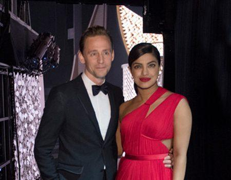Tom Hiddleston and Priyanka Chopra Spotted Getting Flirty at Emmys After-Party